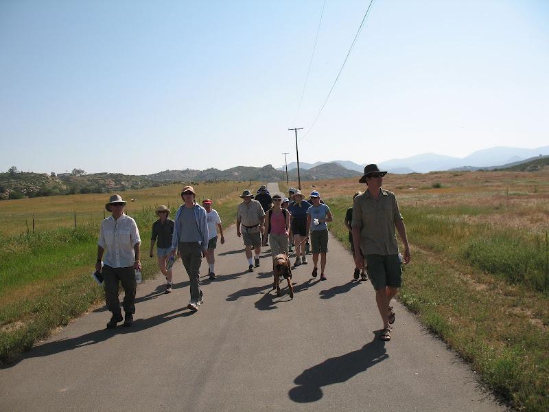 Sunrise Powerlink Advocacy Hike Start