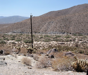 Current SDG&E ROW in Anza Borrego Desert State Park