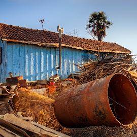 by Stjepan Jozepović - City,  Street & Park  Neighborhoods ( old house, old, ruin, house, junk )