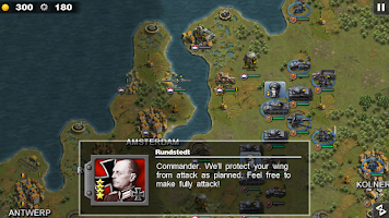 Screenshot of Glory of Generals HD