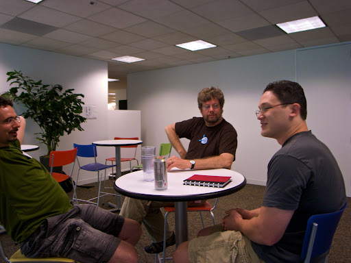 Pat Tufts, Guido van Rossum, JJ Behrens
