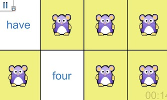 Screenshot of Sight Words Memory Game Free