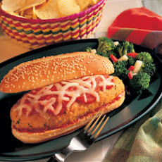 Chicken Parmesan Hero Sandwiches