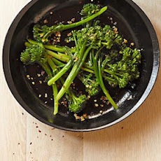 Spicy Seared Broccolini with Garlic