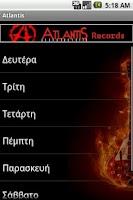 Screenshot of Atlantis FM 105.2