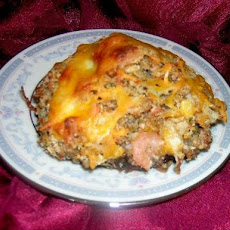 Cheesy Seafood Stuffed Portabella Mushrooms