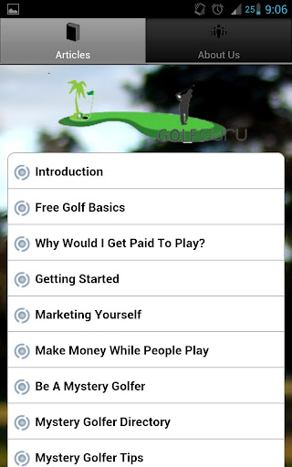 Golf For Money Guide