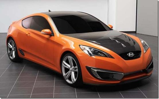[Foto] Genesis Coupe laranja