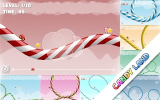 Screenshot of Candy Racer Free