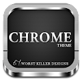 CHROME APEX NOVA GO ADW THEME APK for Bluestacks