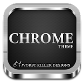 App CHROME APEX NOVA GO ADW THEME APK for smart watch