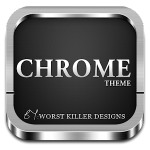 Free Download CHROME APEX NOVA GO ADW THEME APK for Samsung