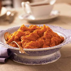 Mashed Honey-Roasted Sweet Potatoes