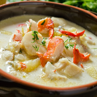 Seafood Chowder With Heavy Cream Recipes