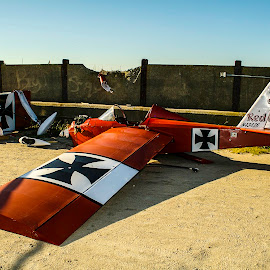 Crash! by Matt Weaver - News & Events Disasters ( max, red, plane, rhode island, ri, tiverton, crash )