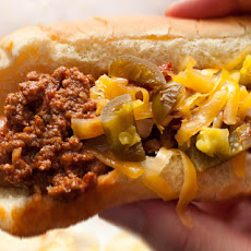 Bison Chili Cheese Dogs Recipe