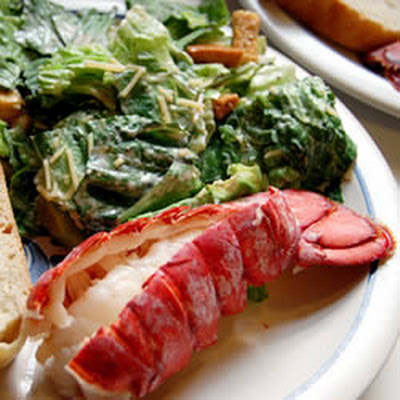 Lobster Tails Steamed in Beer