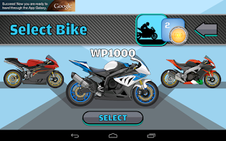 Screenshot of Racer: Superbikes