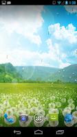 Screenshot of Dandelion Field LWP