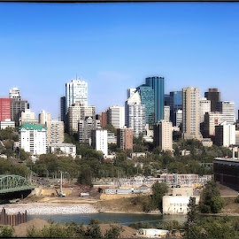 Edmonton by Don Martin - City,  Street & Park  Skylines ( jasper, edmonton, not pick of stack )
