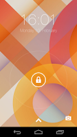Screenshot of Kitkat Lock Screen