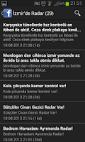 Screenshot of İzmir'de Radar