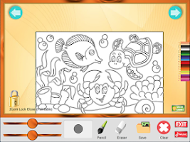 Screenshot of Coloring Game: Animals