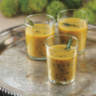 Ginger and Curry Leaf Rasam