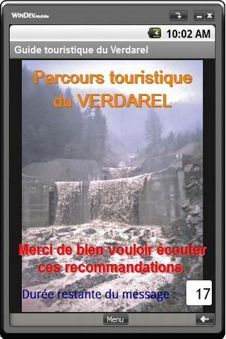 Parcours du torrent Verdarel