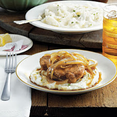Country Smothered Pork Chops from The Dinner Bell