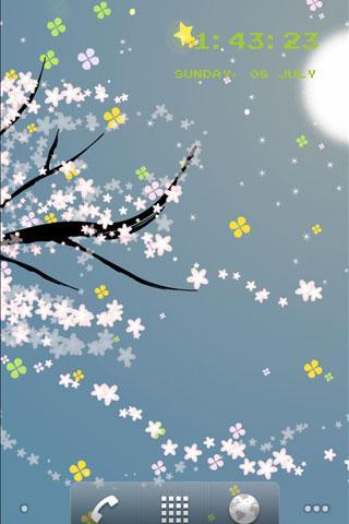 Flower 5 라이브 배경 화면