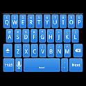Simple Blue Keyboard Skin icon
