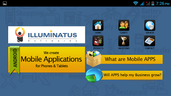 Illuminatus Softwares - screenshot