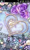 Screenshot of Lovely Heart LiveWallpapr