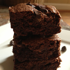 Double-Chocolate Fudge Brownies