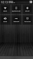 Screenshot of Black Wood White CM11 Theme