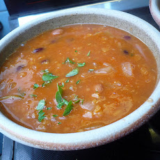 Fresh Tomato and Bean Soup