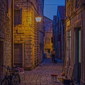 Stari Grad, Hvar by Luka Popadić - City,  Street & Park  Street Scenes ( adriatic, sigma, dalmacija hdr, stari grad, croatia, pentax, hvar, dalmatia )