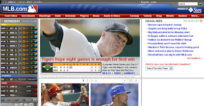 [MLB]輕鬆使用GameDay服務掌握美國大聯盟比賽實況!