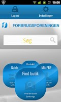Screenshot of Forbrugsforeningen
