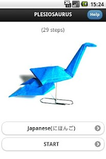 Origami Dinosaur 5 - screenshot