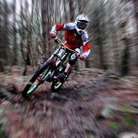 radial by Callum Goddard - Sports & Fitness Cycling ( canon, radial, bike, edit, blur,  )