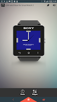 Screenshot of Square Clock5 for SmartWatch 2