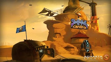Screenshot of Shufflepuck Cantina