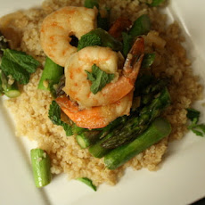 Roasted Soy-Ginger Shrimp and Asparagus