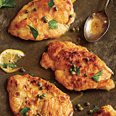 Meyer Lemon Chicken Piccata
