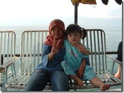 Feri ke Samosir Island