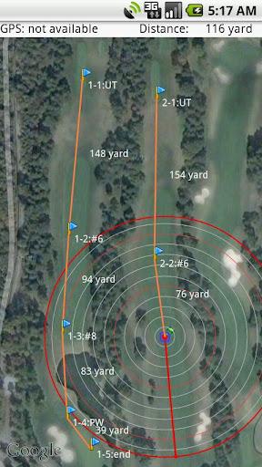GPSゴルフマップ