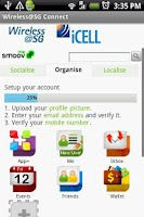 Screenshot of iCELL Wireless@SG Connect