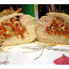 Chicken Breast Stuffed With Feta Cheese, Sun-Dried Tomato